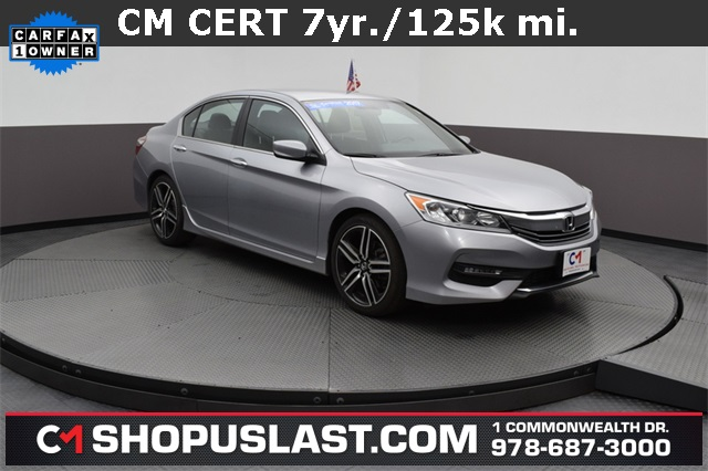 Certified Pre-Owned 2017 Honda Accord Sport