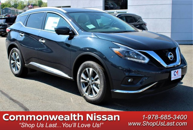 All Wheel Drive Suv New 2018 Nissan Murano Sl