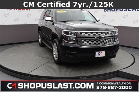 Certified Pre-Owned 2015 Chevrolet Tahoe LT