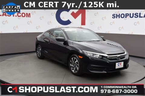 Certified Pre-Owned 2016 Honda Civic LX-P